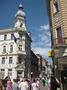 Busy Streets of Sarajevo