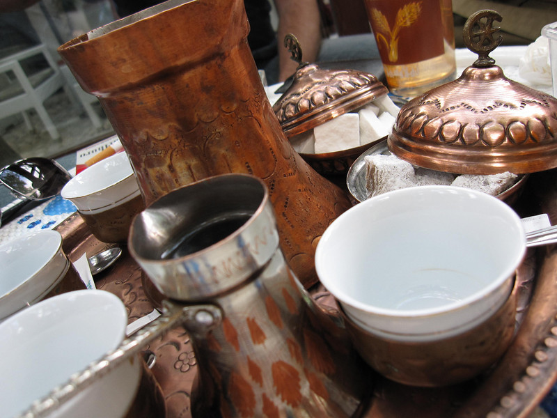 Turkish Coffee in Old Town Sarajevo
