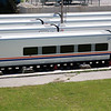 Talgo car 73 50 17 90 013-6 sits out of use in Sarajavo on the 8th June 2012.