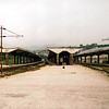 The somewhat derelict station at Sarajevo on the 24th September 2005. At the time this station was used by about five trains a day.