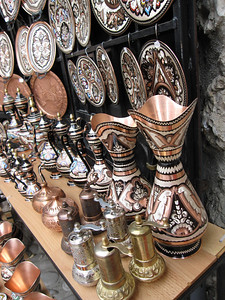 Knick-knacks for Sale in Mostar, Bosnia