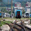 Sarajavo carriage sidings on the 8th June 2012.