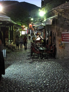 Cobbled Street in Mostar