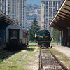 ZFBH 661 323 along side the afternoon service to Doboj at Sarajevo on the 8th June 2012.