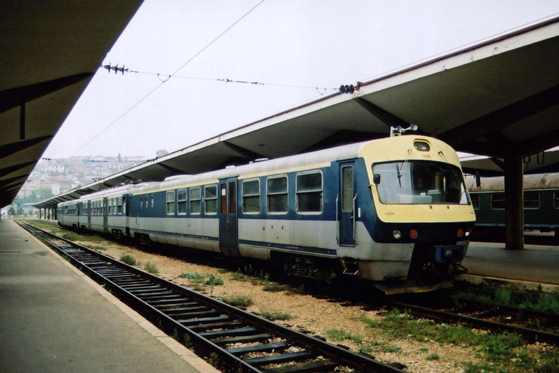 EMU driving trailer 415 213 at Sarajevo on the 24th September 2005.