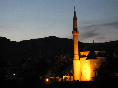 Mosque in Mostar, Bosnia