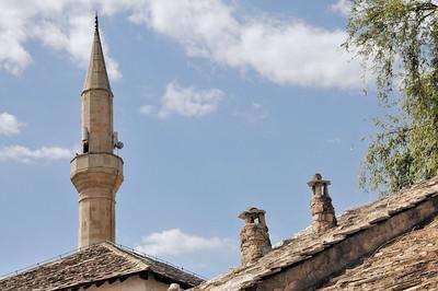 Mostar - Ambiance musulmane - Mocтap