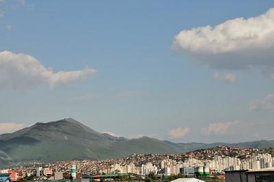 Sarajevo, traversée en coup de vent Capajeвo