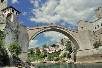 Mostar - Le vieux pont - Mocтap