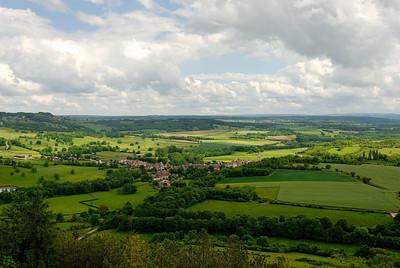 Vezelay - View towards St. Pere