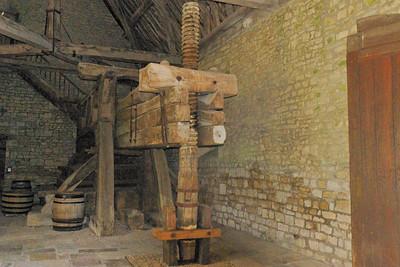 Vougeot - Ancient wine presse