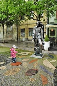 Hviezdoslavovo Namestie - Statue de Hans Christian Andersen