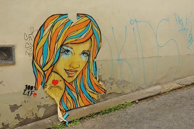 Rue Mikulášska - Fresque de charme