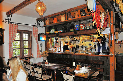 Rue Beblavého - Restaurant Modrá Hviezda (Etoile bleue)