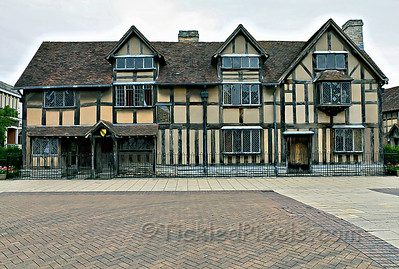 Shakespeare's Birthplace - Stratford-upon-Avon, Warwickshire, England