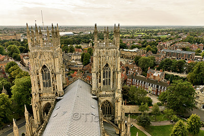 View West from York Minster