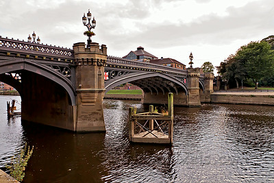 Skeldergate Bridge over the Ouse River