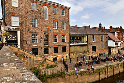 The Slug & Lettuce Bar on King's Staith, York