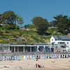 park and beach cabanas Lyme Regis