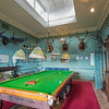 billiards and trophy heads Inverlochy Castle