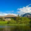Ben Nevis backdropping Inverlochy Castle