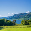 view of Lake Bassenthwaite from Armathwaite Hall