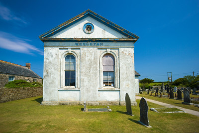 abandoned Methodist Church Trethewey Cornwall
