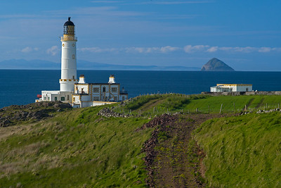 Ailsa Craig & Corsewall Lighthouse