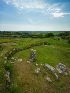 Carn Euny 5th C BCE village Cornwall