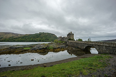 bridge to Eilean Donan Castle