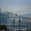Pont Elisabeth et colline de Buda