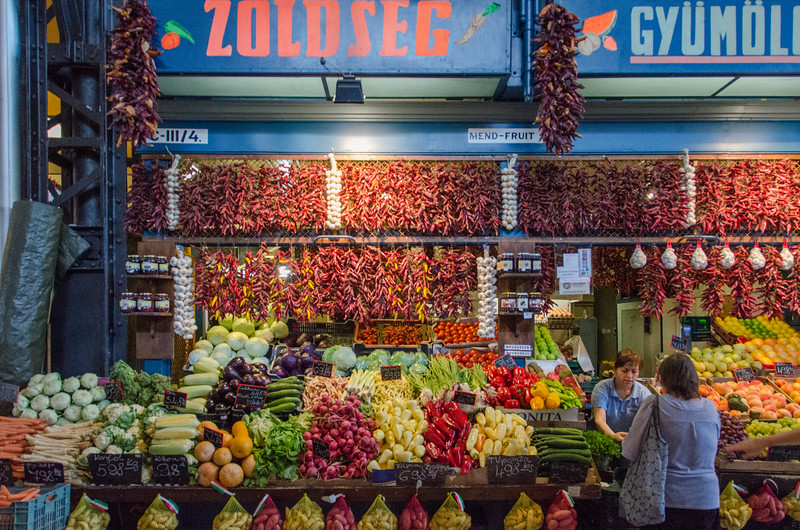 Budapest's Grand Central Market - A Hungarian Food Tour in Budapest