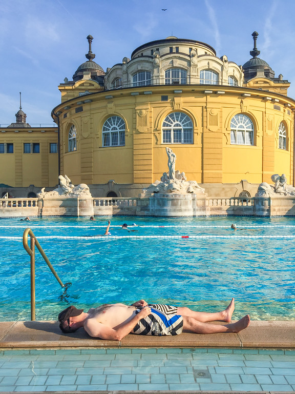 The Best Budapest Spas & Thermal Baths | The Szechenyi Baths, Budapest