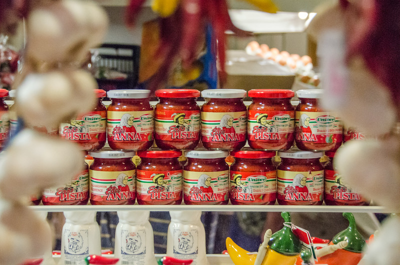 Exploring Hungarian paprika at Budapest's Grand Market Hall