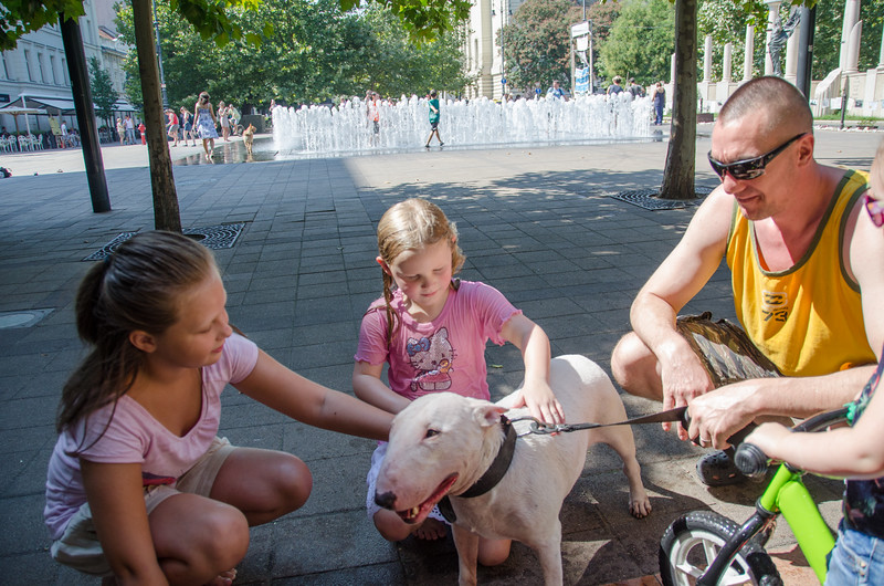 New friends in Budapest, Hungary
