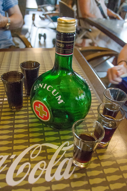 Things to eat + drink in Budapest | Unicom, herbal liquor + Hungary's national drink