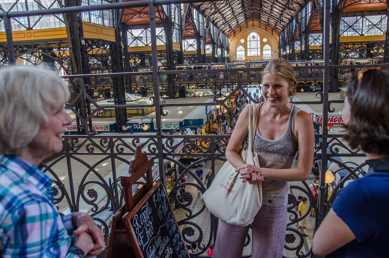 On the Taste Hungary food tour in Budapest, Hungary