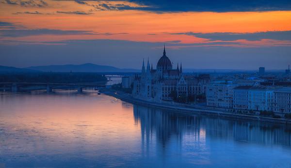 Parliament at sunrise