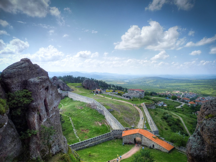 belogradchik bulgaria fort rocks
