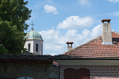 Dome of the The Patriarchal Cathedral of the Holy Ascension of God in Veliko Tarnovo, Bulgaria