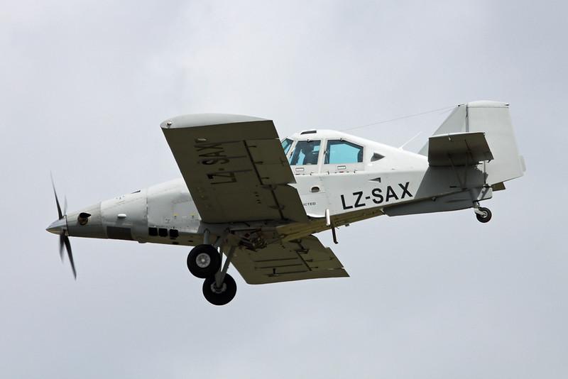 LZ-SAX Thrush Aircraft S-2R H80 Thrush Commander c/n H80-161DC Paris-Le Bourget/LFPB/LBG 16-06-17