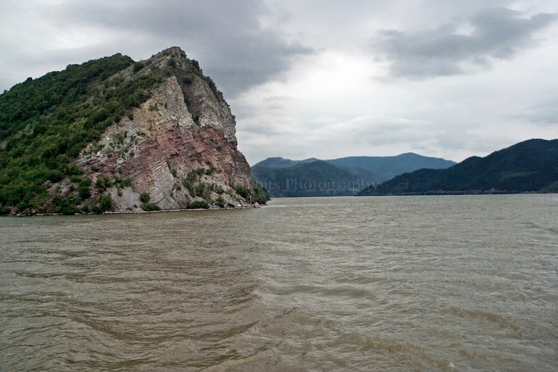 Iron Gate. Danube River between Romania and Serbia.