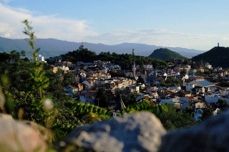 Небет Тепе - Overlooks Plovdiv. August 2019