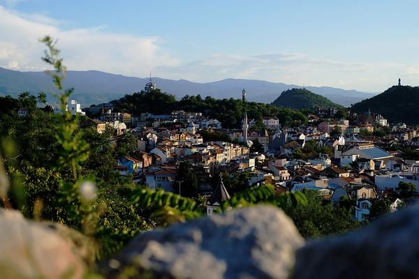 Небет Тепе - Overlooks Plovdiv. August 2019