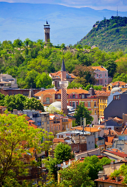 City of Plovdiv Bulgaria
