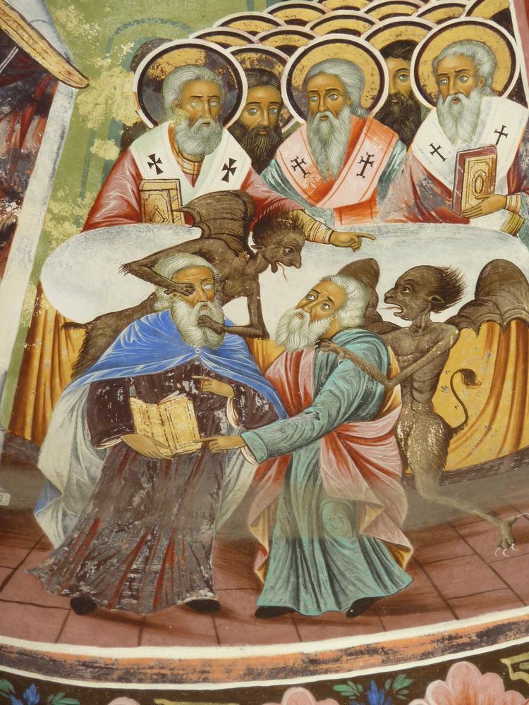 Rila Monastery frescoes