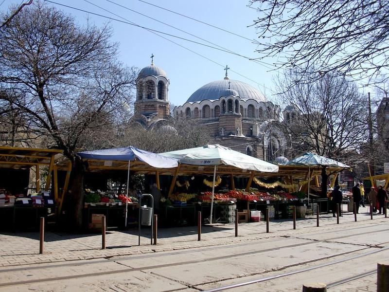 sofia bulgaria market