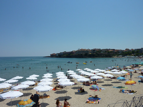 On the beach, Sozopol - Bulgaria