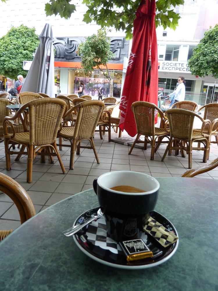 Espresso in Varna