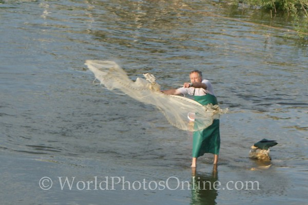Bulgaria - Varna - Fishing on the Danube River